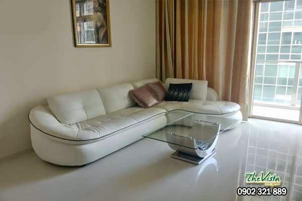 Cho thuê căn hộ Vista loại 2 phòng ngủ giá 900usd/tháng