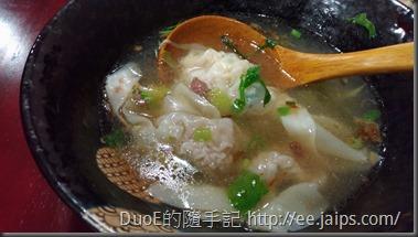 阿珠姐水晶餃麵食館-餛飩湯