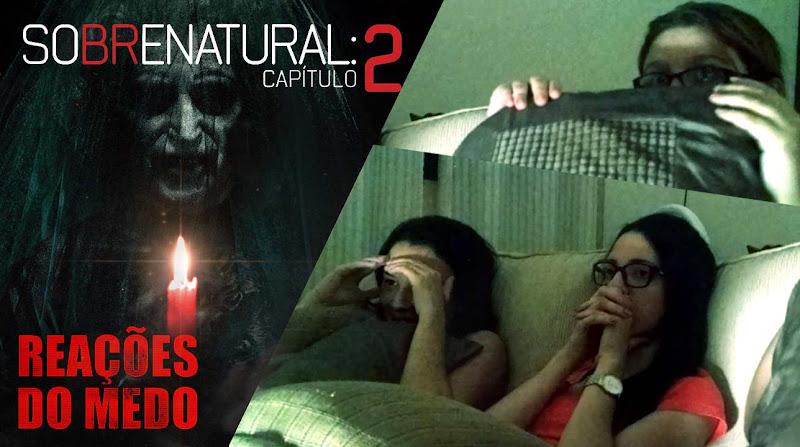 [Reações do Medo #4] Sobrenatural: Capítulo 2 | Muitos sustos e pulos hilários