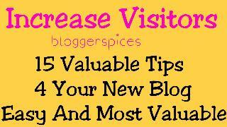 Increase Visitors 15 Tips