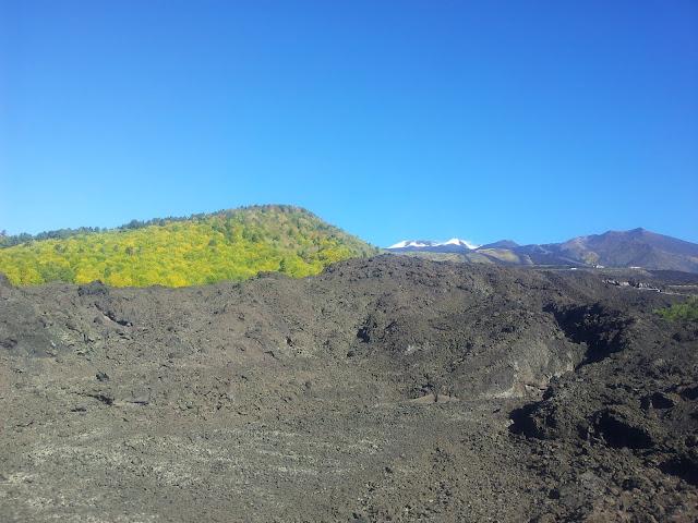 Approaching Etna