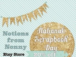 Happy Scrapbook Day!!