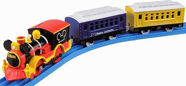 Hình ảnh Tầu hỏa Mickey Mouse Western Locomotive thật vui nhộn