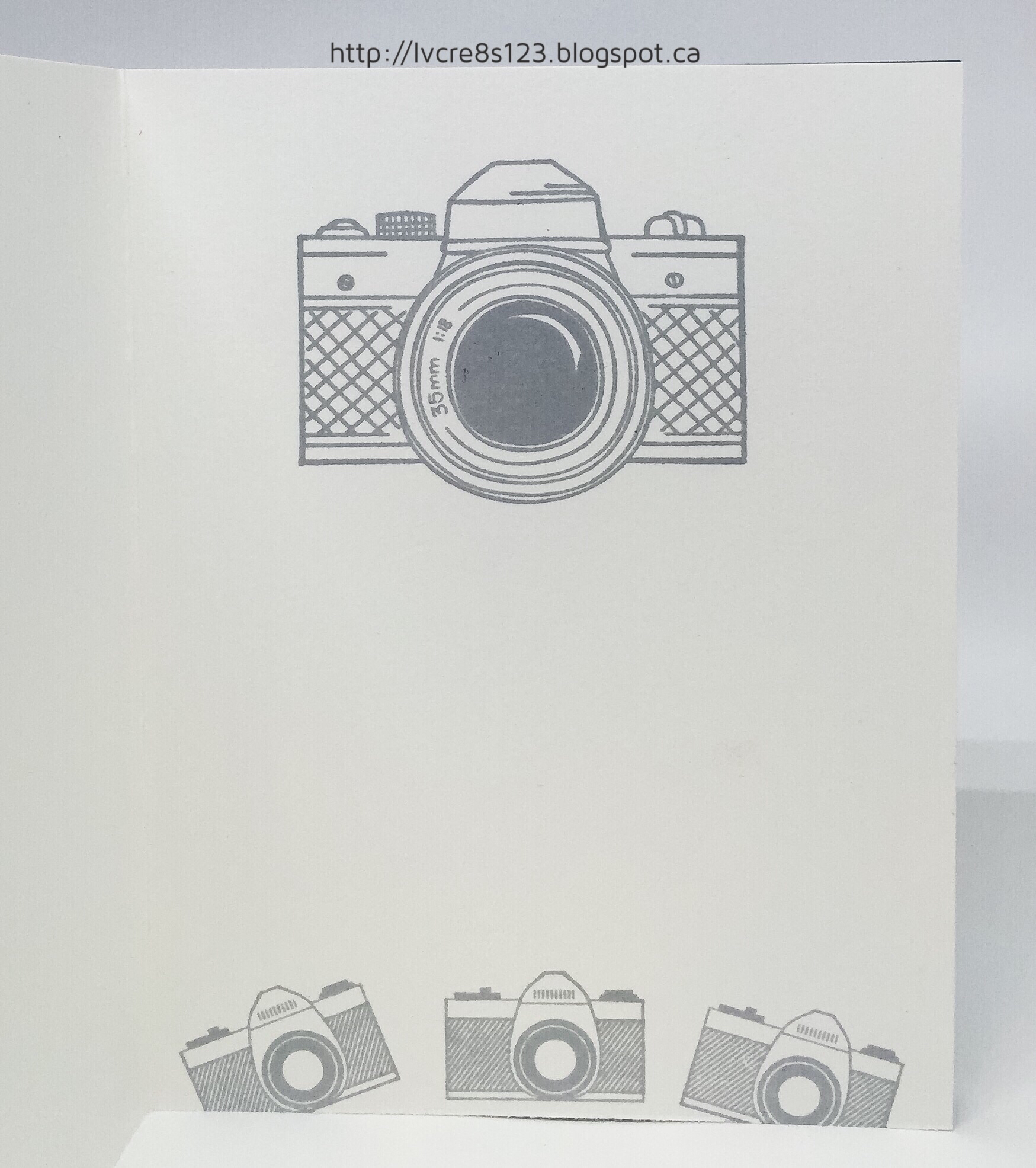 Linda vich creates birthday card for photography buff do you have a photographer bookmarktalkfo Image collections