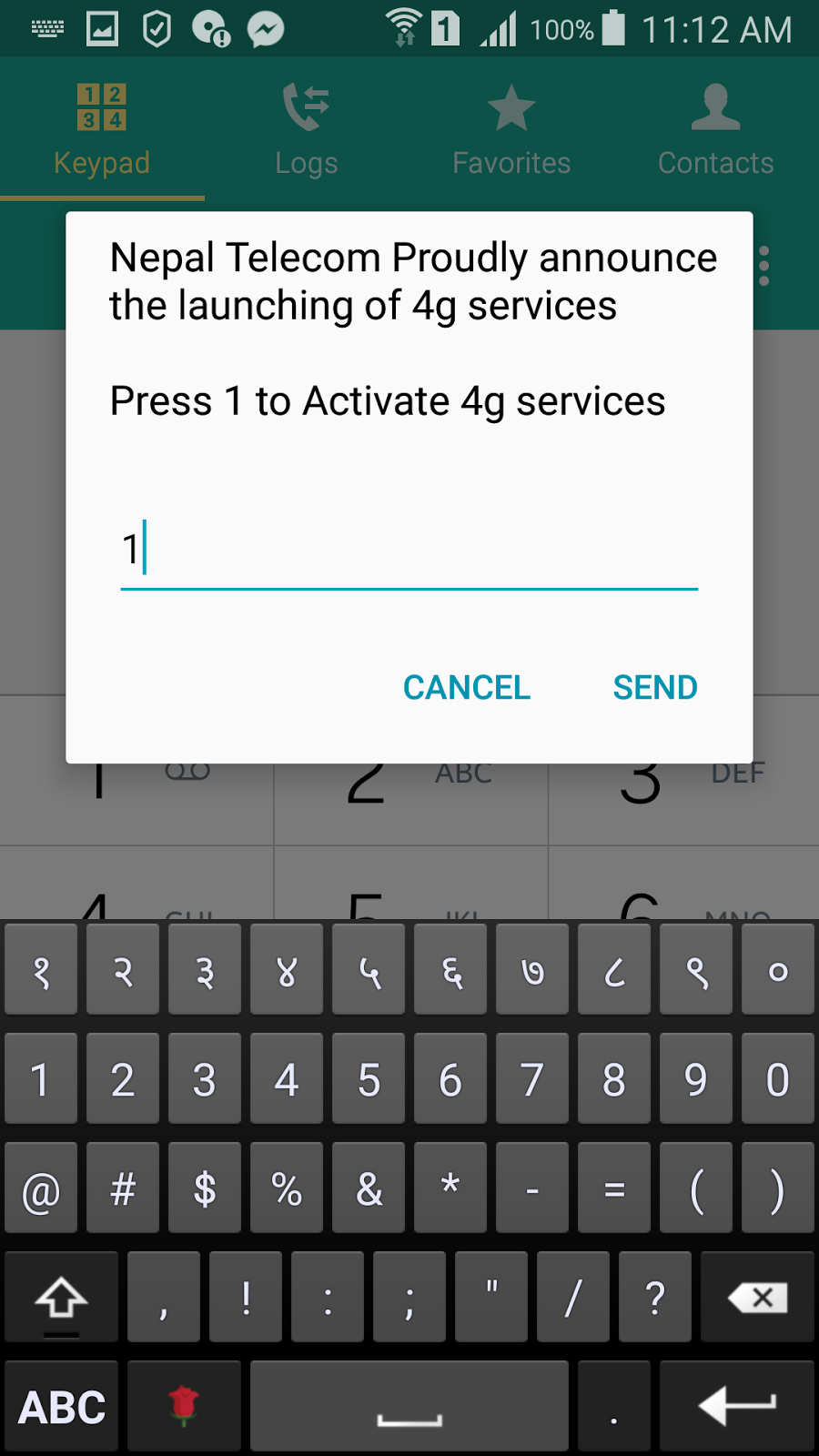 iPhone: how to activate 4G in ntc sim