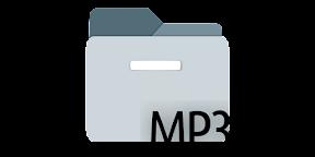 Convertir vídeo a MP3 en GNOME Shell, Cinnamon y Mate. Logo.
