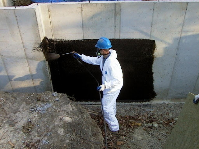 Bituminous Coating For Foundations : Manufacturer of foundation waterproofing concrete crack