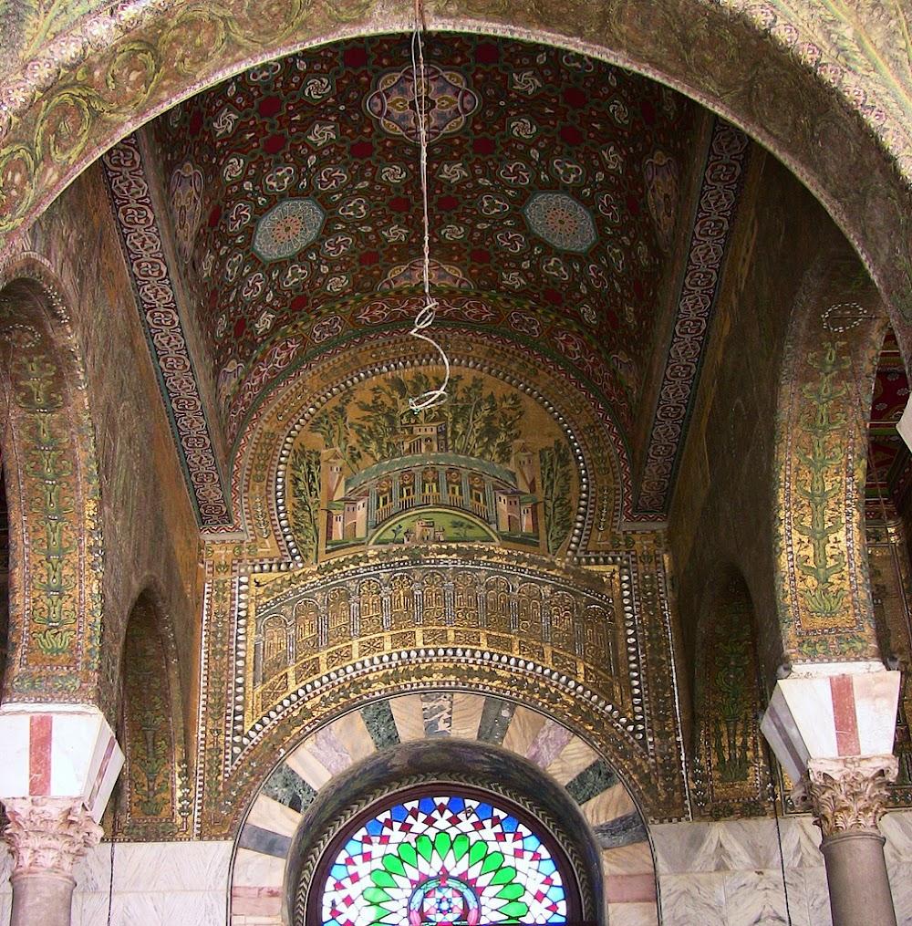 the umayyad mosque of damascus