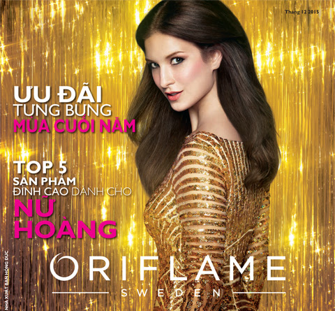 Catalog Oriflame tháng 12/2015