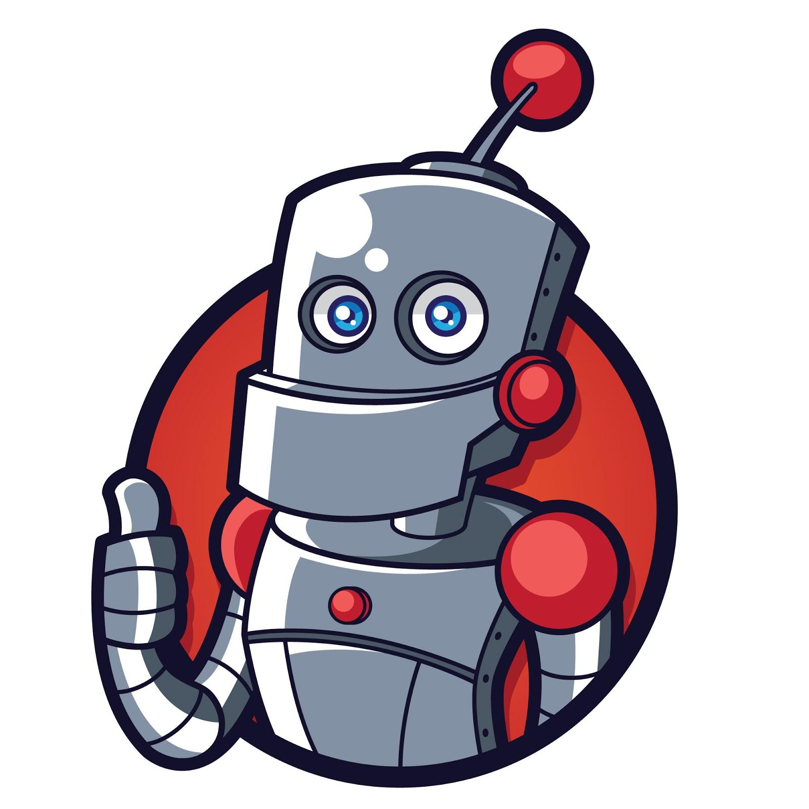 Robo Mascot Logo Free Download Vector CDR, AI, EPS and PNG Formats
