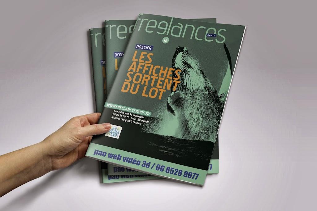 magazine Freelances PAO Les affiches sortent du lot