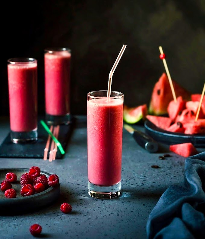 Watermelon Smoothie Recipe | Breakfast Care
