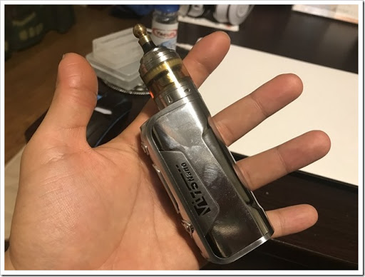IMG 5910 thumb - 【DNA搭載モデル】Hcigar VT75 Nanoレビュー!小さくて可愛いお手軽ハイエンド機!立ち上がりの速さはさすがなので1台は持っておきたいMODのひとつ?