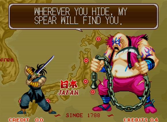 Earthquake, apesar de balofo e gigante, é um ninja