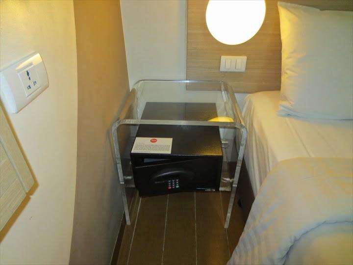 チューンホテル・エルミタ・セキュリティボックス