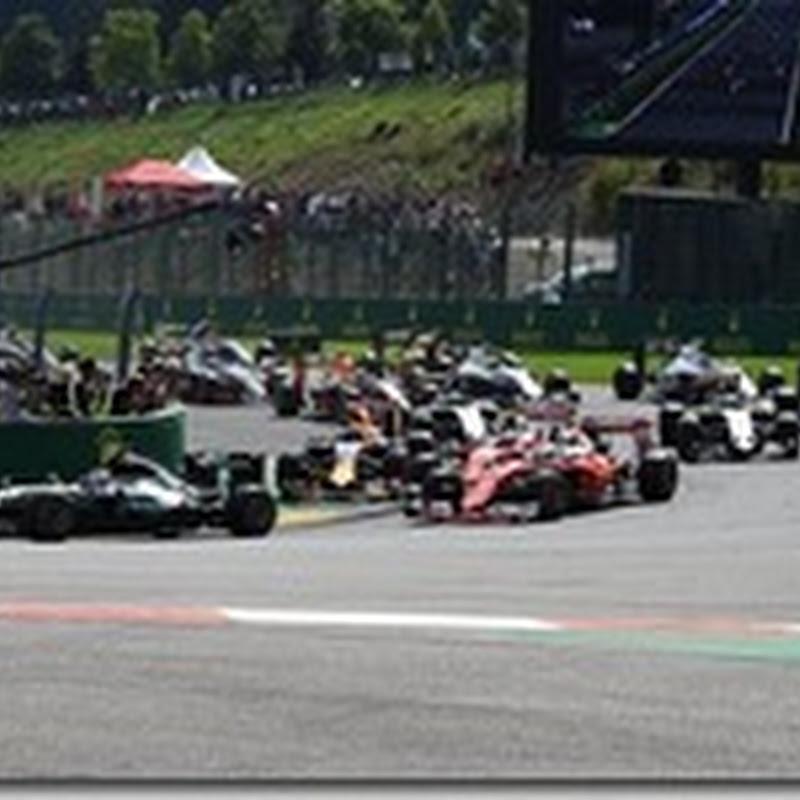 Colpa di Vettel l'incidente alla prima curva?