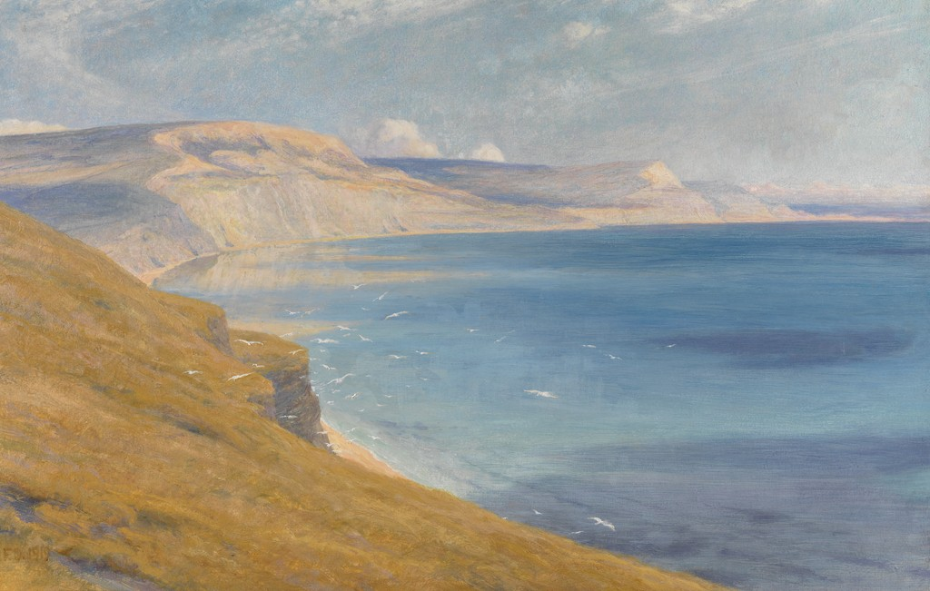 Frank Dicksee - Sea and Sunshine, Lyme Regis