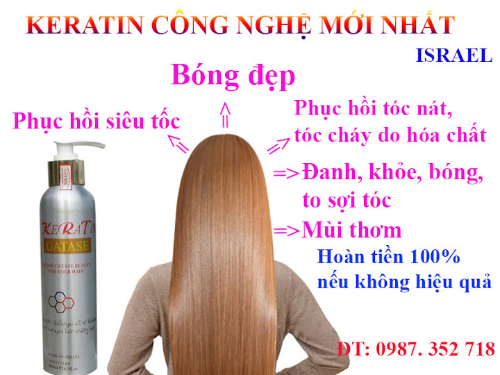 KERATIN đặc trị tóc hư tổn