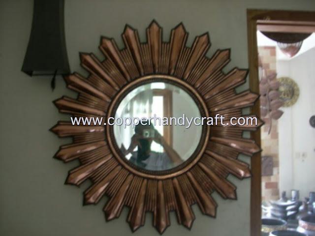 cermin tembaga dan kuningan