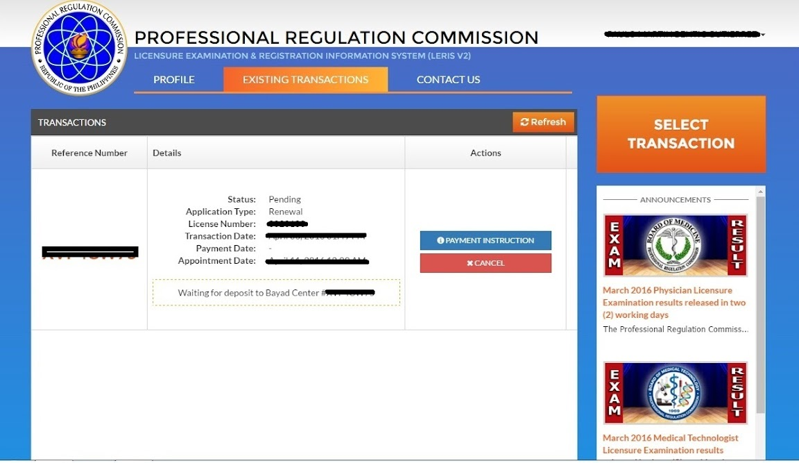 how to renew your philippine regulation commission license