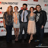 OIC - ENTSIMAGES.COM - Rachel Moody, Danielle Evon Ploeger, Brian Villalobos, Akasha Villalobos and Benjamin R Moody at the Film4 Frightfest on Monday   of  Last girl standing UK Film Premiere at the Vue West End in London on the 31st  August 2015. Photo Mobis Photos/OIC 0203 174 1069