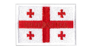 Прапорець Грузії 5х3,5см