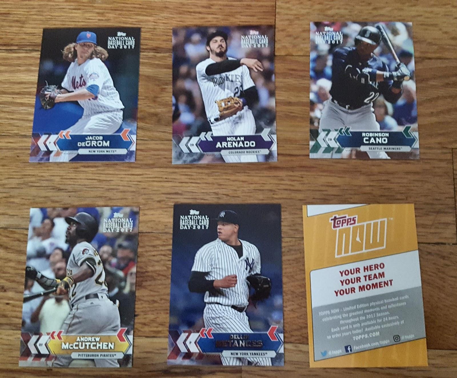 Bdj610s Topps Baseball Card Blog Pack Break 2017 Topps National