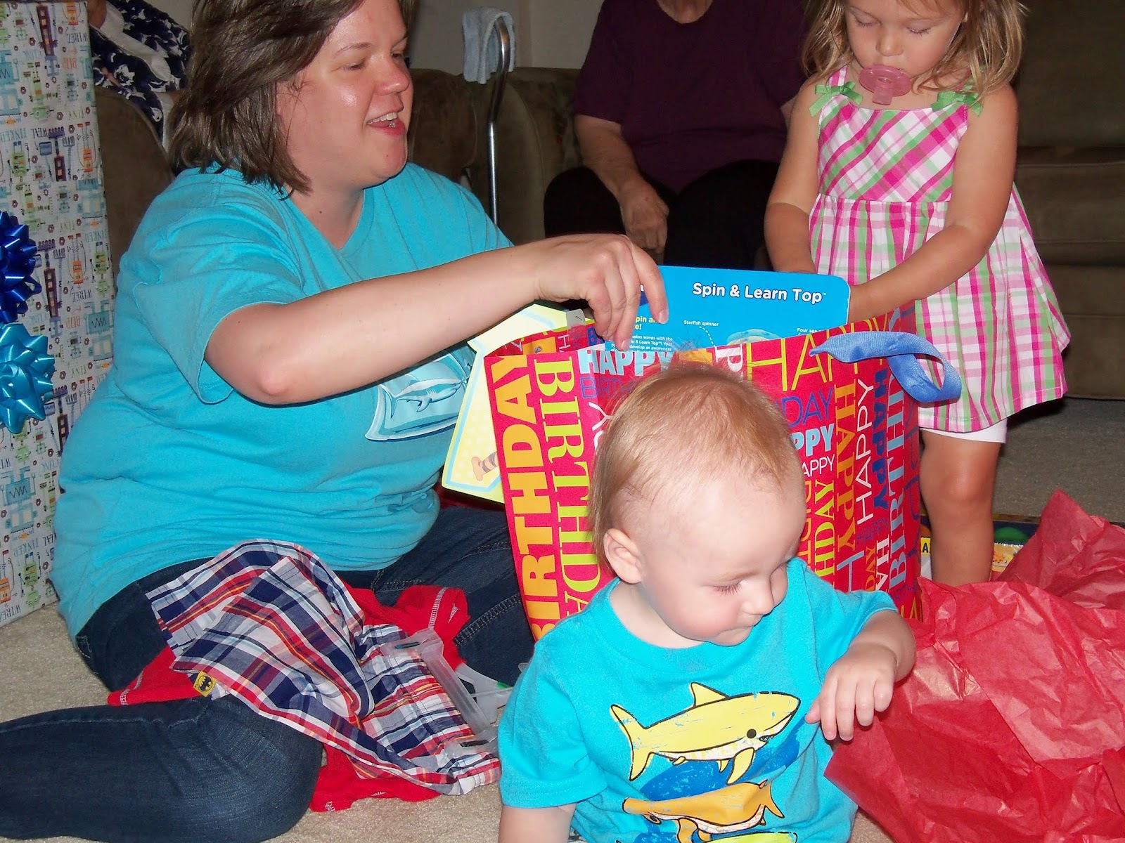 Marshalls First Birthday Party - 115_6671.JPG