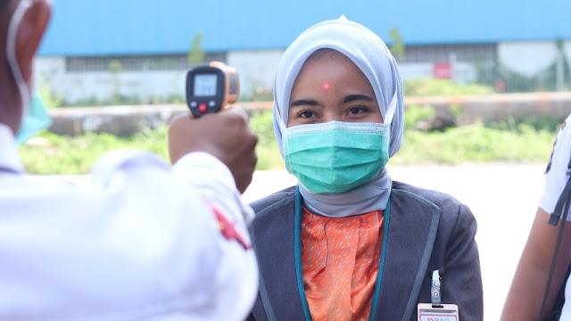 Waspada Wabah Virus Corona, IPC Teluk Bayur Lakukan Beberapa Upaya Antisipasi dan Pencegahan