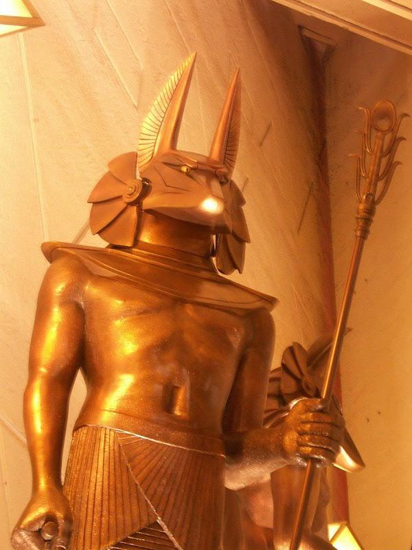 Golden Statue, Egyptian Magic