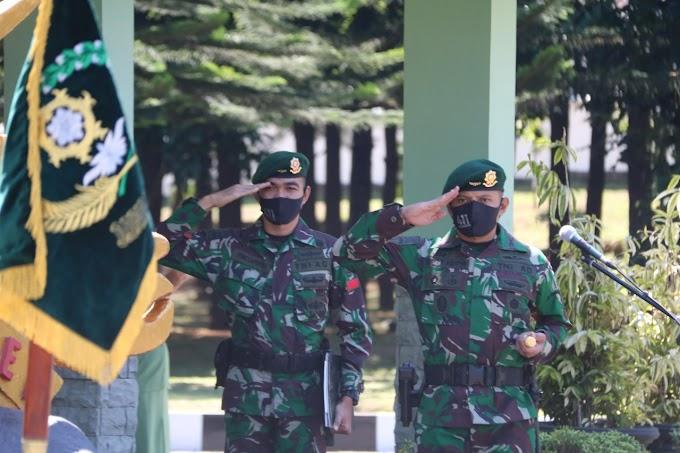 Danyonif MR 411/PDW Kostrad Lepas 13 Prajurit Terbaik Pandawa Pindah Satuan