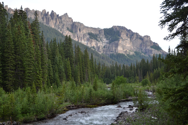 wilderness boundary along the river