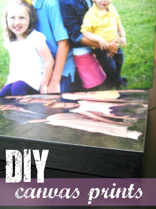 diy canvas print tutorial