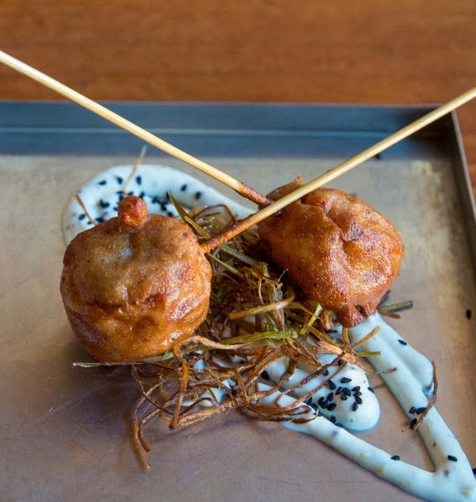 photo of Lobster Corn Dogs