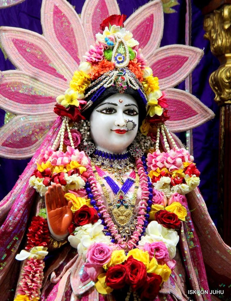 ISKCON Juhu Sringar Deity Darshan 5 Jan 2017 (11)