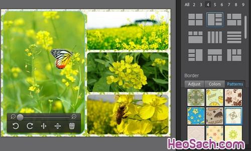 Hình 7 - Hướng dẫn cách sử dụng phần mềm ghép ảnh Fotor