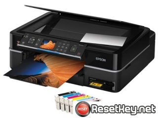 Reset Epson TX710W printer Waste Ink Pads Counter