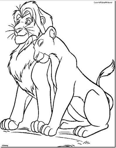 simba rrey leon colorear (8)