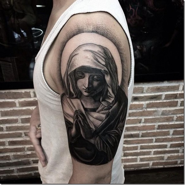 Tatuajes de la virgen maría - Tatuajes247