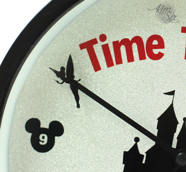 Tinkerbell Minute hand on Disney Clock