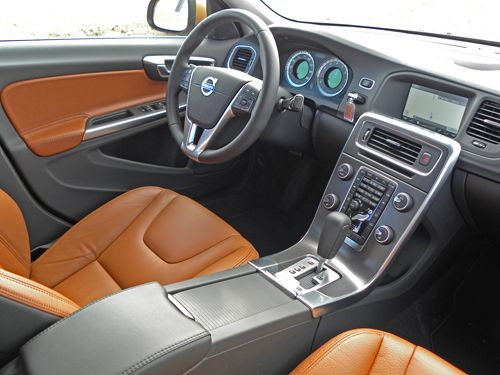Interior view of 2011 Volvo S60
