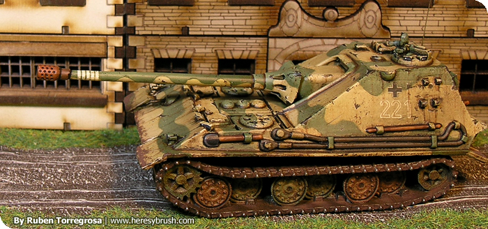 Videotutorial - Como pintar tanques alemanes (15mm) How to paint German Tanks (15mm)