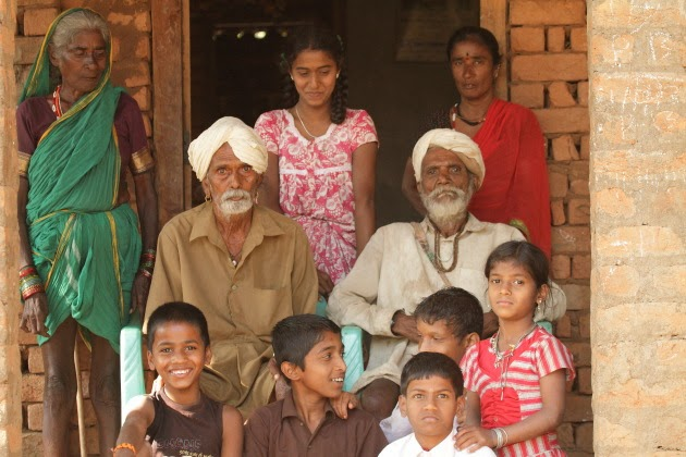 Gowli family from a village near Dandeli, Karnataka