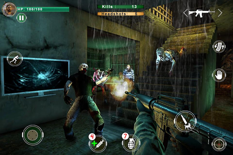 Скриншот Zombie Butcher: Sniper Shooter Survival Game