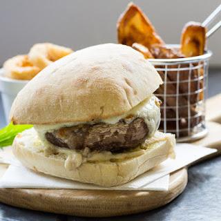 Portobello Mushroom Burgers with Homemade Potato Wedges
