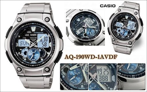 Casio aq 190 wd