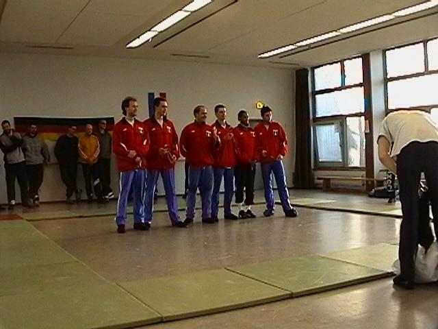 Freundschaftswett- kampf gegen das französiche Nationalteam 2003 - IMGA0156.JPG