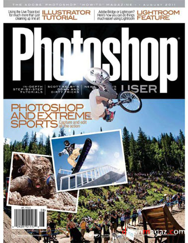 Photoshop User - August 2011