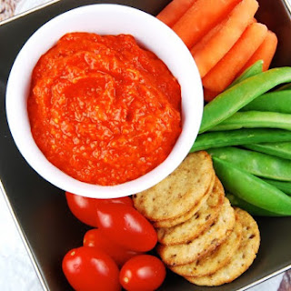 Red Pepper and Eggplant Dip