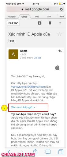 cách tạo tài khoản ID Apple cho iPhone
